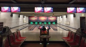 Digitale interactief bowling